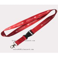 Buy cheap Fast Delivery Red Color Decorative Lanyards from wholesalers