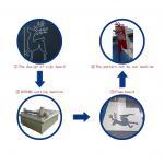 Buy cheap foam knife v-cut knife digital cutting system machine from wholesalers