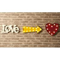 Buy cheap 9 Battery Operated Marquee Letter Lights , Love Alphabet Letter Lights for Wedding from wholesalers