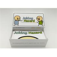Buy cheap Eco Friendly Joking Hazard Expansion Pack , Custom Made Playing Cards 360pcs product