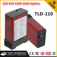Buy cheap TLD-110 220V Red Single Vehicle Loop Detector For Car Counting System from wholesalers