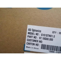 Buy cheap AUO G101STN01.0 10.1inch  Industrial Lcd  Display 1024(RGB)×600   (WSVGA)  117PPI 3.3V 4P WLED 250 cd/m²  16.7M color from wholesalers