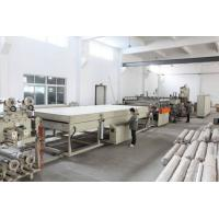 Buy cheap Polycarbonate Hollow Roof Panel Sheet Extrusion Machine PC 1220mm / 2100mm Product Width from wholesalers