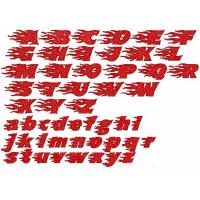 Buy cheap Embroidery fonts Blazed95 from wholesalers