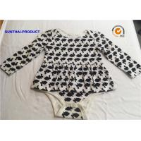 Buy cheap Long Sleeve Newborn Baby Outfits 100% Cotton Rabbit AOP Baby Romper For Fall / Winter from wholesalers