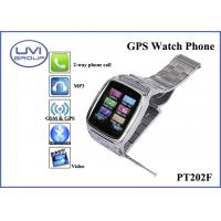 Buy cheap Touch Screen Real Time Tracking Watch Phone, Personal GPS Trackers with 1.3MP Camera + Bluetooth + FM+ MP3, WAP, Ebook from wholesalers