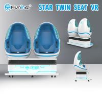 Buy cheap Interactive 9D Virtual Reality Simulator Twin Seat For Amusement Park from wholesalers