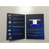 Buy cheap Book Style and Paper Material digital video card 4.3'' lcd screen video brochure for event invitation from wholesalers