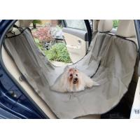 Buy cheap Adjustable Pet Car Seat Covers Waterproof Simple Install OEM / ODM Acceptable from wholesalers