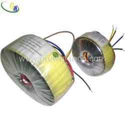 Quality 220V to 110V Dry Type Toroidal Transformer for Audio Transformer for sale