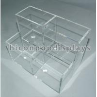 Buy cheap Counter Top Clear Acrylic Makeup Organizer Merchandise Recyclable from wholesalers