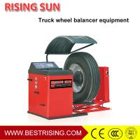 Buy cheap Truck used wheel balancing machine price for sale from wholesalers
