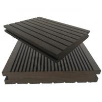 Buy cheap Wood plastic floor, plastic wood floor, pe composite environmental protection new material, outdoor garden park use from wholesalers