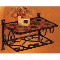 Buy cheap Wrought iron shelf from wholesalers