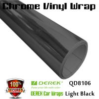 Buy cheap Chrome Mirror Car Wrapping Vinyl Film 3 layers - Chrome Light Black from wholesalers