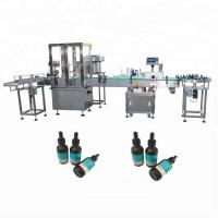Buy cheap 15-40 Bottles/Min Essential Oil Filling Machine For 30ml Glass Bottle Filling Line from wholesalers