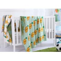 Buy cheap Customized Jacquard Kids Organic Cotton Knitted Blanket for Home from wholesalers