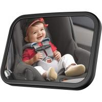Buy cheap Shatterproof Baby Backseat Mirror , Baby Rear View Mirror No Annoying Shaking from wholesalers