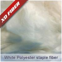 Buy cheap 1.5D*38MM white recycled polyester staple fiber  for spinning ,nonwoven. from wholesalers