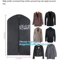 Buy cheap PEVA Garment Suit Cover With Shirt Pocket,Suit Cover,waterproof dust cover,Foldable Clothing Leather Suit Cover Bag from wholesalers
