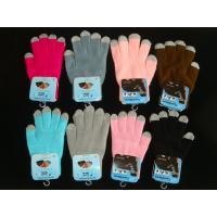 Buy cheap touchscreen gloves, touch gloves, mobile touchscreen gloves,promotional gloves product