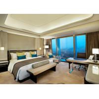 Buy cheap Professional Natural Timber Veneer Luxury Hotel Furniture For Bedroom from wholesalers