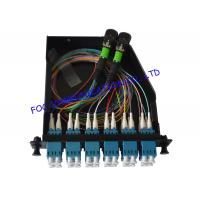Buy cheap Fiber Optic Patch Panel 24Core MPO Cassette For Telecoms from wholesalers
