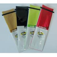 Buy cheap Side Gusset Aluminum Foil Lamination Kraft Paper Bag with Tin Tie from wholesalers