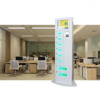 Buy cheap Floor Stand Model Mobile Phone Charging Station With Safe Pin Code Lock For Cafe from wholesalers