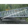 Buy cheap Multi - Span Single Lane Steel Box Girder Bailey Bridges Structural Formwork Truss Construction from wholesalers