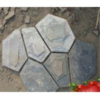 Buy cheap Natural slate cultural stone blue slate Macadam Mosaic from wholesalers
