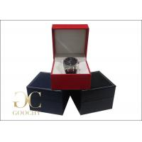 Buy cheap Wedding Gift Leather Watch Boxes / Leather Watch Storage Case  from wholesalers