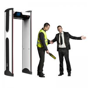 Buy cheap Waterpoof archway metal detector door / prison metal detectors at school product