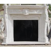Buy cheap Dynasty White Marble Fireplace Mantle from wholesalers