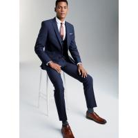 Buy cheap OEM Mens Tuxedo Suits with Two Button Fastening Jackets / Bright Blue 3 Piece Suit from wholesalers
