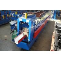 Buy cheap 18 Roller Stations Rain Gutter Forming Machine With Manual / Hydraulic Uncoiler from wholesalers
