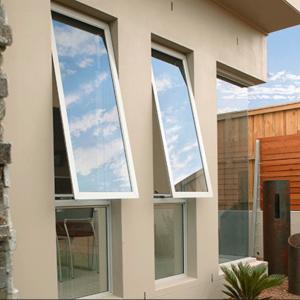 Buy cheap Fabricated aluminium Glass fixed Awning Windows and doors product