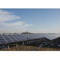 Buy cheap Customized Solar Panel Mounting Structure , Ground Mount Solar Racking Systems from wholesalers