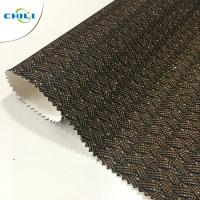 Buy cheap New Design Shining Pu Glitter Fabric For shoes And Bags from wholesalers