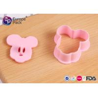 Buy cheap Eco Friendly PP Mickey Mouse Biscuit Cutter Children Tableware Set from wholesalers