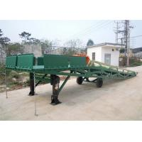 Buy cheap Q235B Three Sided Mobile Dock Ramp Applied Container Loading And Unloading Cargoes from wholesalers