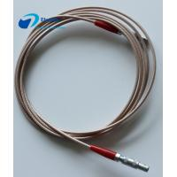 Buy cheap C5-C5 Ultrasonic Probe Custom Power Cables LEMO FFA 00 250 Connector RG316 Signal Transmission from wholesalers
