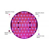 Buy cheap 50W Full Spectrum UFO Grow Light Lamp PCB Assembly With 4 Bands Red Blue IR UV LEDs from wholesalers