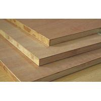 Buy cheap Standard Size Veneered MDF Panels / Construction Flooring MDF Wood Panelling from wholesalers