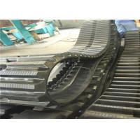Buy cheap Black large size  Rubber Crawler (500*90*82) for Kobelco excavators from wholesalers