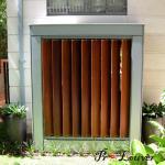 Buy cheap New design Aerofoil sun louver,sun shade aluminium louvers for modern buildings from wholesalers
