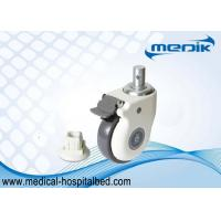 Buy cheap Heavy Duty Locking Casters Hospital Bed Casters Linkage Mechanism Design from wholesalers