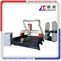 Buy cheap Wood CNC Machine Router 3.2KW spindle,5.5KW dust collector ZKM-1325B 1300*2500mm product