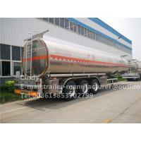 Buy cheap 50000 Liters Capacity Oil Transportation Aluminum Fuel Tank Semi Trailer from wholesalers