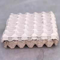 Buy cheap 30 Cells Pulp Egg Tray Paper Quail Egg Tray Wholesale from wholesalers